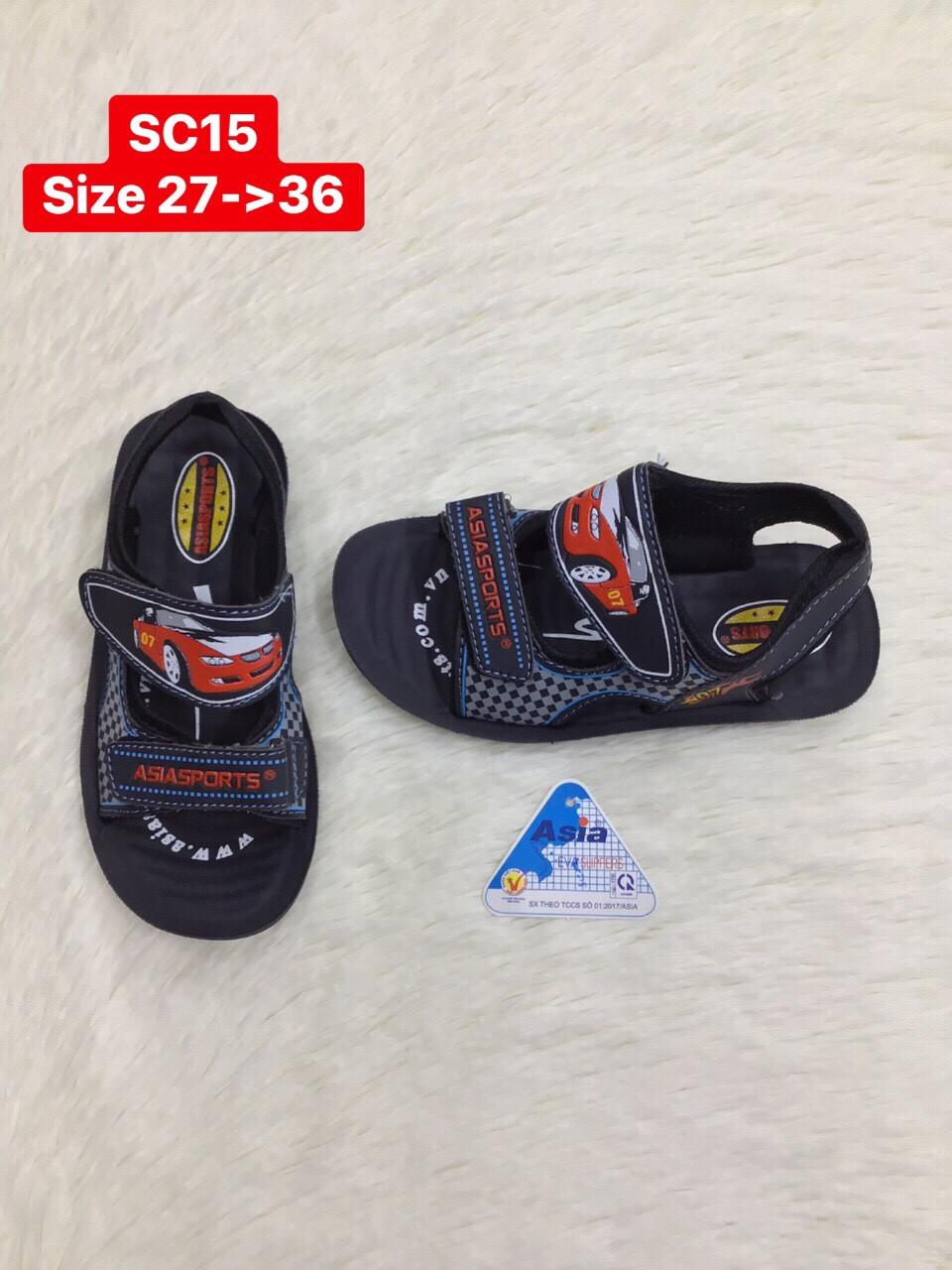 Dép sandal Asia quai dán SC15
