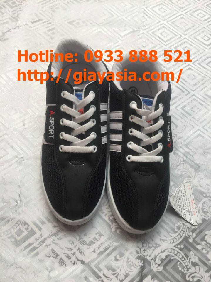 Giày asia sport sọc trắng