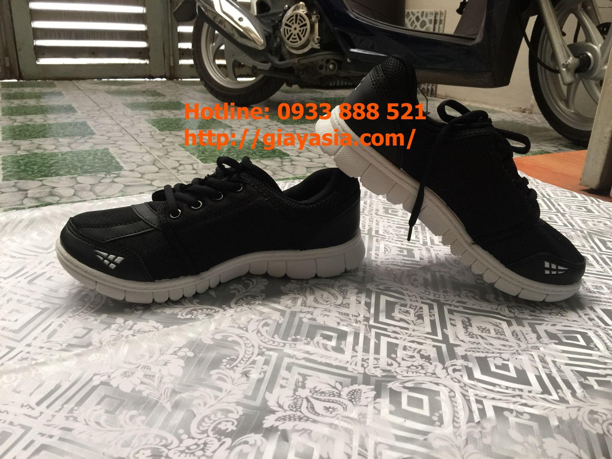 Giày asia thời trang nam đen
