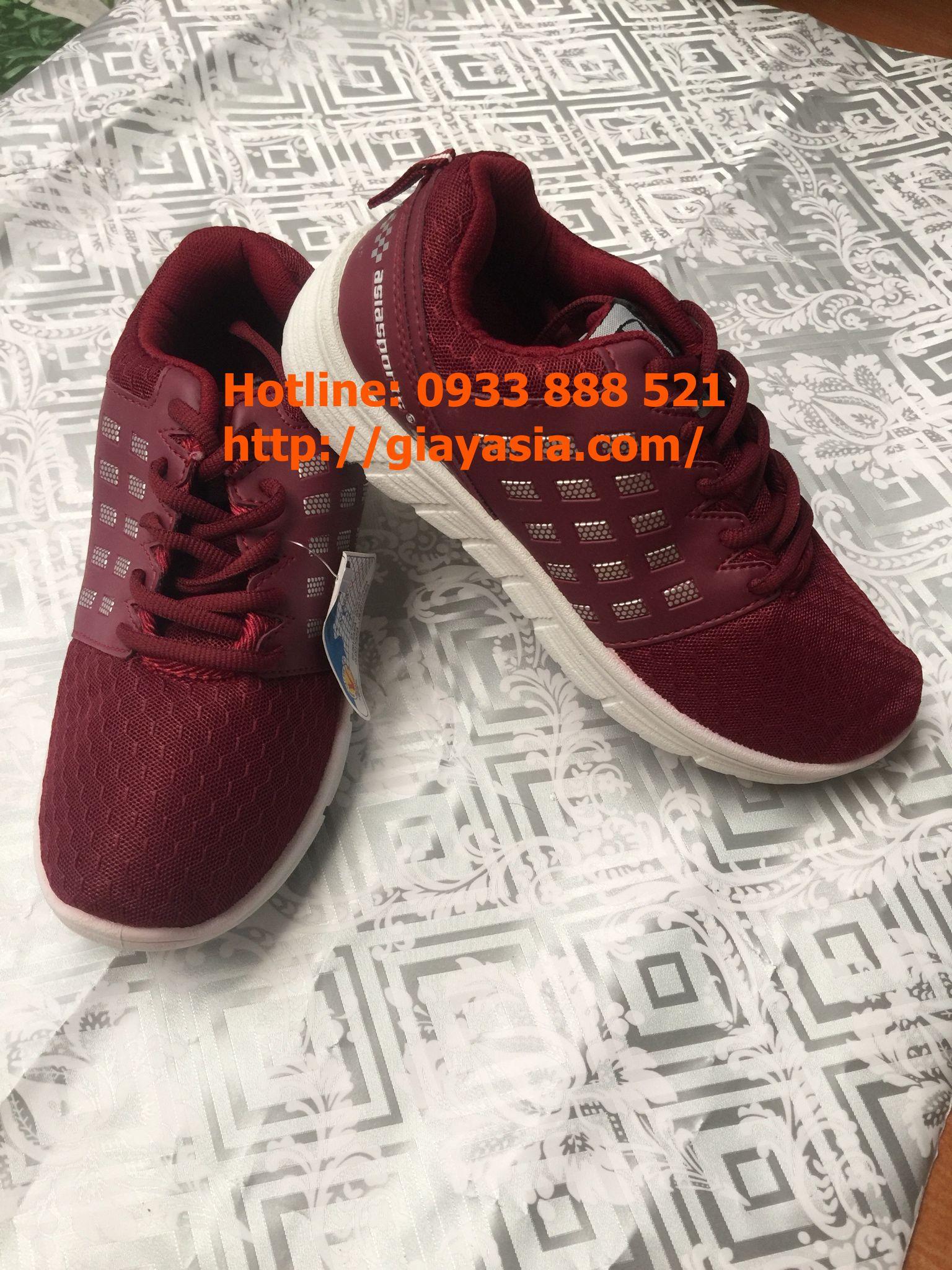 Giày asia thời trang nữ đỏ